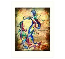 Aquarius - The Water-Bearer Art Print