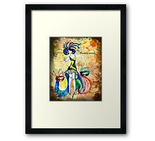 Libra - The Scales Framed Print