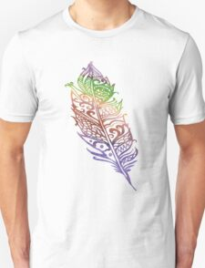 Color feather T-Shirt