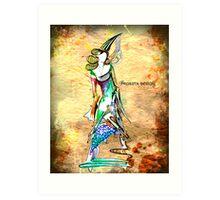 Virgo - The Maiden Art Print