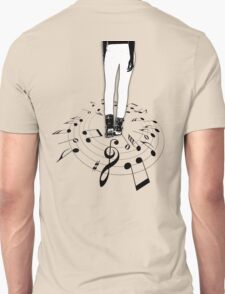 The center of the MUSIC... Black Edition! T-Shirt