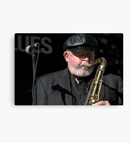 Bob Bertles, Jazz & Blues Festival, Australia 2010 Canvas Print