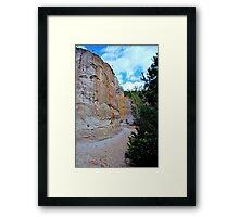 Providence canyon  Framed Print