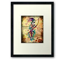 Sagittarius - The (Centaur) Archer Framed Print