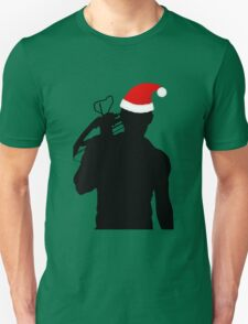 Daryl Dixon Textless Christmas Design (Dark) Unisex T-Shirt