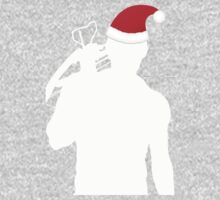 Daryl Dixon Textless Christmas Design (Light) One Piece - Long Sleeve