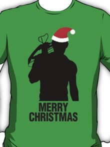 Daryl Dixon Christmas Design (Dark) T-Shirt