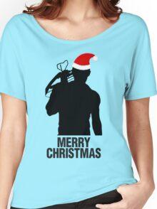 Daryl Dixon Christmas Design (Dark) Women's Relaxed Fit T-Shirt