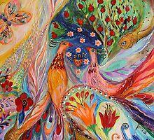 Original painting fragment 89 by Elena Kotliarker