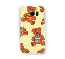 teddy bear pattern Samsung Galaxy Case/Skin