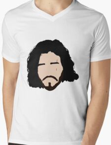 GAME OF THRONES- SNOW Mens V-Neck T-Shirt