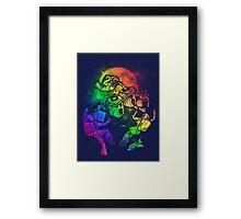 Space Disco Framed Print