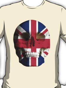 UK Flag Union Jack Skull T-Shirt