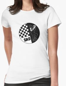 Ska Music Man Womens Fitted T-Shirt