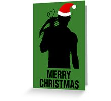 Daryl Dixon Christmas Design (Dark) Greeting Card