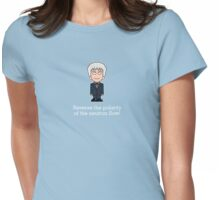 The Third Doctor (shirt) Womens Fitted T-Shirt