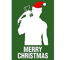Daryl Dixon Christmas Design (Light) Photographic Print