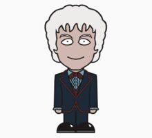 The Third Doctor (sticker) by redscharlach
