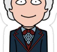 The Third Doctor (sticker) Sticker