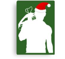 Daryl Dixon Textless Christmas Design (Light) Canvas Print