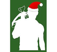 Daryl Dixon Textless Christmas Design (Light) Photographic Print