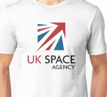 UK Space Agency Logo Unisex T-Shirt