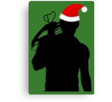 Daryl Dixon Textless Christmas Design (Dark) Canvas Print