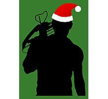 Daryl Dixon Textless Christmas Design (Dark) Photographic Print
