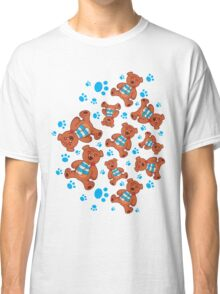 teddy bear pattern Classic T-Shirt