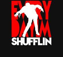 Zombie Shuffle (wht) Unisex T-Shirt