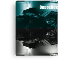 Gamers Paradise Opposites Canvas Print