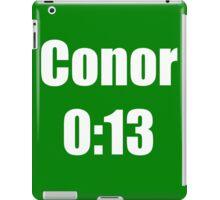 Conor McGregor 0:13 - UFC 194 iPad Case/Skin