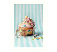 Building better birthday cakes Art Print