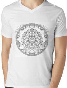 Starry Heart Mens V-Neck T-Shirt