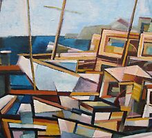 Boats by D.M Ross