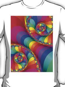 Beautiful Rainbow Spiral T-Shirt