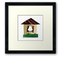Rural house Framed Print