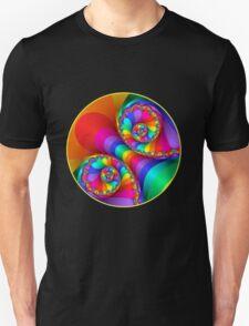 Beautiful Rainbow Spiral For Apparel  T-Shirt