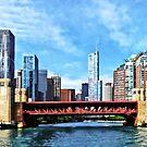 Chicago IL - Lake Shore Drive Bridge by Susan Savad