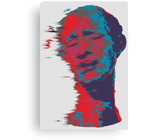 Trippy Man Canvas Print