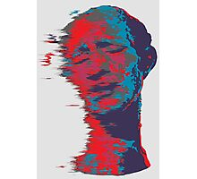 Trippy Man Photographic Print