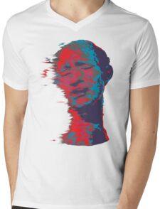 Trippy Man Mens V-Neck T-Shirt