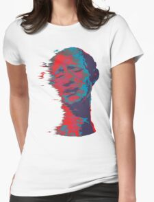 Trippy Man Womens Fitted T-Shirt