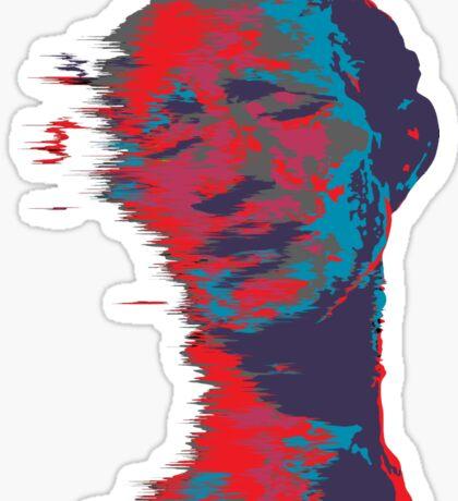Trippy Man Sticker