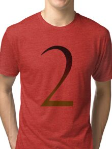 Number 2 Tri-blend T-Shirt