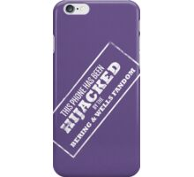 Hijacked by Feels - White iPhone Case/Skin