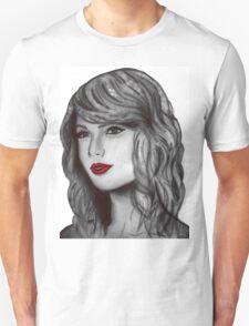 Taylor Swift Digital Portrait Unisex T-Shirt
