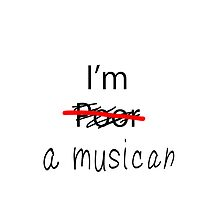 I am a Musician - Phone Case/Cover by iArt Designs