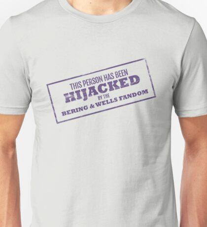 Hijacked by Feels - Purple Unisex T-Shirt