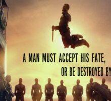 Spartacus-quote Sticker